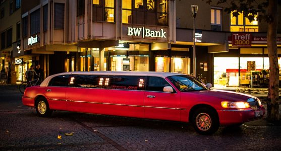 "Stretchlimousine Pinke ""Tussi on Tour"""
