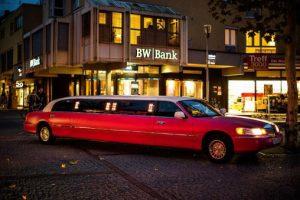 Pinke Limousine Stuttgart