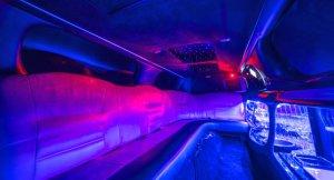 Pinke Limousine Stuttgart - Innen