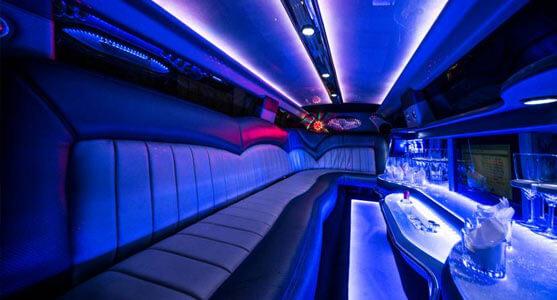 Limousine Dodge Charger V8 - Innen